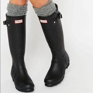 Authentic HUNTER Original Wellington Rain Boots
